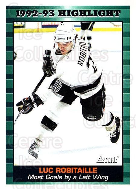 1993-94 Score USA #451 Luc Robitaille<br/>4 In Stock - $1.00 each - <a href=https://centericecollectibles.foxycart.com/cart?name=1993-94%20Score%20USA%20%23451%20Luc%20Robitaille...&quantity_max=4&price=$1.00&code=178949 class=foxycart> Buy it now! </a>