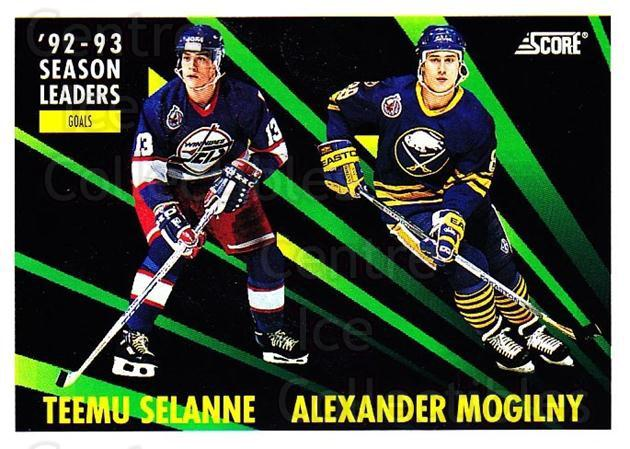 1993-94 Score USA #477 Teemu Selanne, Alexander Mogilny<br/>2 In Stock - $2.00 each - <a href=https://centericecollectibles.foxycart.com/cart?name=1993-94%20Score%20USA%20%23477%20Teemu%20Selanne,%20...&quantity_max=2&price=$2.00&code=178977 class=foxycart> Buy it now! </a>
