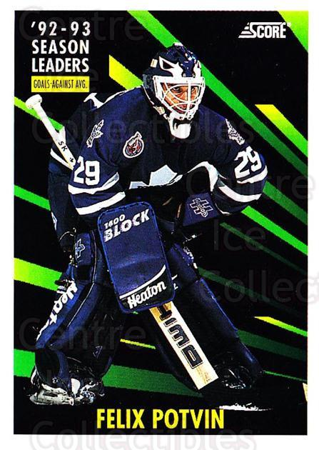 1993-94 Score USA #484 Felix Potvin<br/>1 In Stock - $1.00 each - <a href=https://centericecollectibles.foxycart.com/cart?name=1993-94%20Score%20USA%20%23484%20Felix%20Potvin...&quantity_max=1&price=$1.00&code=178983 class=foxycart> Buy it now! </a>