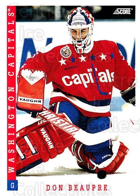 1993-94 Score USA #58 Don Beaupre<br/>4 In Stock - $1.00 each - <a href=https://centericecollectibles.foxycart.com/cart?name=1993-94%20Score%20USA%20%2358%20Don%20Beaupre...&quantity_max=4&price=$1.00&code=179076 class=foxycart> Buy it now! </a>