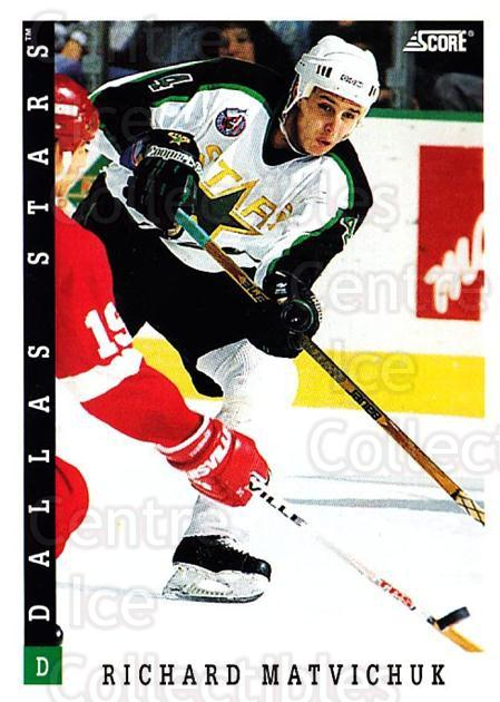 1993-94 Score Canadian #285 Richard Matvichuk<br/>4 In Stock - $1.00 each - <a href=https://centericecollectibles.foxycart.com/cart?name=1993-94%20Score%20Canadian%20%23285%20Richard%20Matvich...&quantity_max=4&price=$1.00&code=179229 class=foxycart> Buy it now! </a>