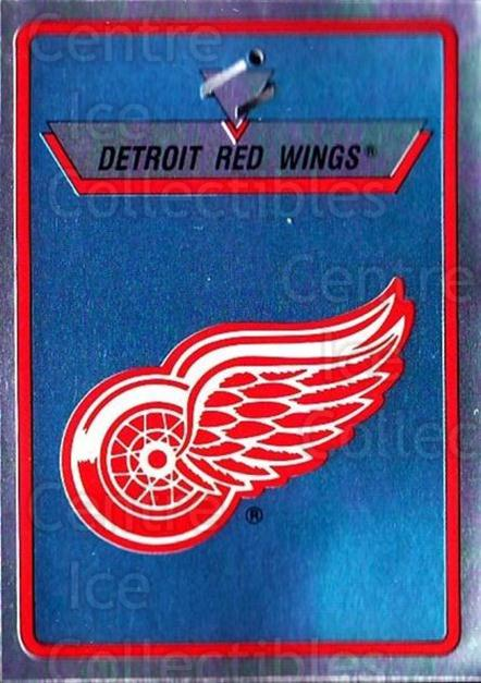1990-91 Panini Stickers #210 Detroit Red Wings<br/>10 In Stock - $1.00 each - <a href=https://centericecollectibles.foxycart.com/cart?name=1990-91%20Panini%20Stickers%20%23210%20Detroit%20Red%20Win...&quantity_max=10&price=$1.00&code=17946 class=foxycart> Buy it now! </a>