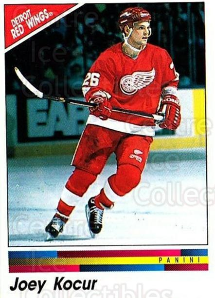 1990-91 Panini Stickers #211 Joey Kocur<br/>9 In Stock - $1.00 each - <a href=https://centericecollectibles.foxycart.com/cart?name=1990-91%20Panini%20Stickers%20%23211%20Joey%20Kocur...&quantity_max=9&price=$1.00&code=17947 class=foxycart> Buy it now! </a>