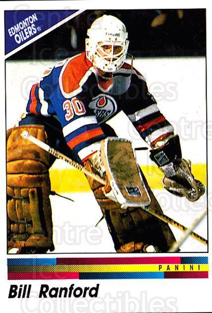 1990-91 Panini Stickers #218 Bill Ranford<br/>10 In Stock - $1.00 each - <a href=https://centericecollectibles.foxycart.com/cart?name=1990-91%20Panini%20Stickers%20%23218%20Bill%20Ranford...&quantity_max=10&price=$1.00&code=17954 class=foxycart> Buy it now! </a>