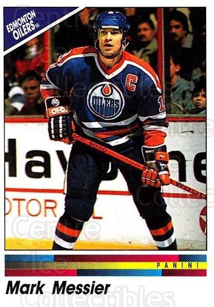 1990-91 Panini Stickers #219 Mark Messier<br/>1 In Stock - $1.00 each - <a href=https://centericecollectibles.foxycart.com/cart?name=1990-91%20Panini%20Stickers%20%23219%20Mark%20Messier...&quantity_max=1&price=$1.00&code=17955 class=foxycart> Buy it now! </a>