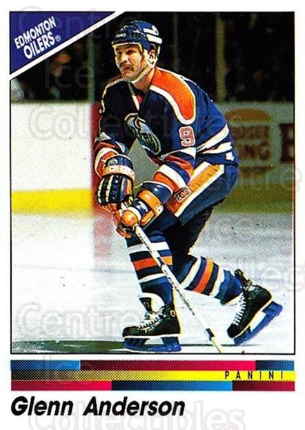 1990-91 Panini Stickers #227 Glenn Anderson<br/>10 In Stock - $1.00 each - <a href=https://centericecollectibles.foxycart.com/cart?name=1990-91%20Panini%20Stickers%20%23227%20Glenn%20Anderson...&quantity_max=10&price=$1.00&code=17964 class=foxycart> Buy it now! </a>