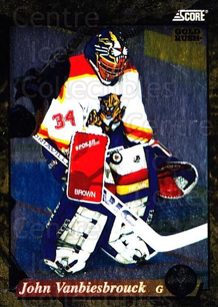 1993-94 Score USA Gold #501 John Vanbiesbrouck<br/>2 In Stock - $2.00 each - <a href=https://centericecollectibles.foxycart.com/cart?name=1993-94%20Score%20USA%20Gold%20%23501%20John%20Vanbiesbro...&quantity_max=2&price=$2.00&code=179684 class=foxycart> Buy it now! </a>