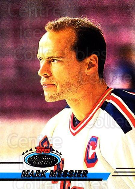 1993-94 Stadium Club OPC #35 Mark Messier<br/>6 In Stock - $1.00 each - <a href=https://centericecollectibles.foxycart.com/cart?name=1993-94%20Stadium%20Club%20OPC%20%2335%20Mark%20Messier...&quantity_max=6&price=$1.00&code=180185 class=foxycart> Buy it now! </a>
