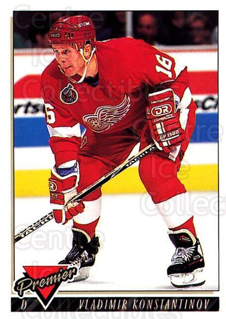 1993-94 Topps Premier #108 Vladimir Konstantinov<br/>3 In Stock - $1.00 each - <a href=https://centericecollectibles.foxycart.com/cart?name=1993-94%20Topps%20Premier%20%23108%20Vladimir%20Konsta...&quantity_max=3&price=$1.00&code=180258 class=foxycart> Buy it now! </a>