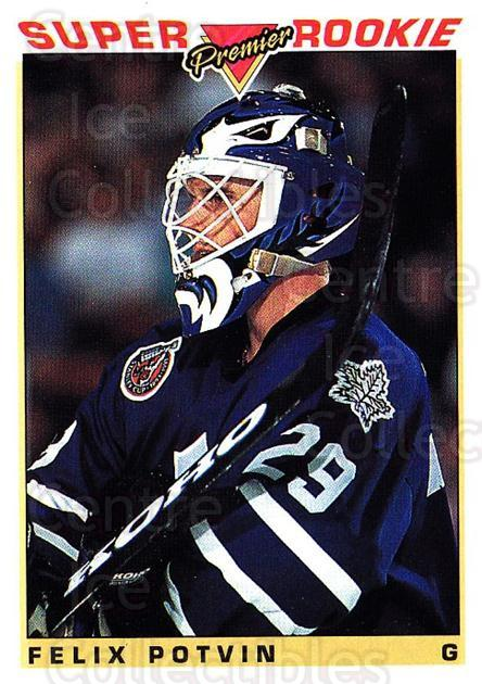 1993-94 Topps Premier #126 Felix Potvin<br/>1 In Stock - $1.00 each - <a href=https://centericecollectibles.foxycart.com/cart?name=1993-94%20Topps%20Premier%20%23126%20Felix%20Potvin...&quantity_max=1&price=$1.00&code=180278 class=foxycart> Buy it now! </a>