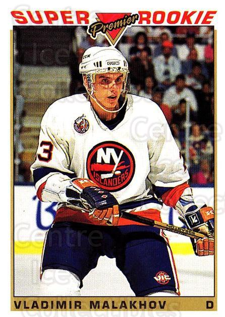 1993-94 Topps Premier #129 Vladimir Malakhov<br/>4 In Stock - $1.00 each - <a href=https://centericecollectibles.foxycart.com/cart?name=1993-94%20Topps%20Premier%20%23129%20Vladimir%20Malakh...&quantity_max=4&price=$1.00&code=180281 class=foxycart> Buy it now! </a>