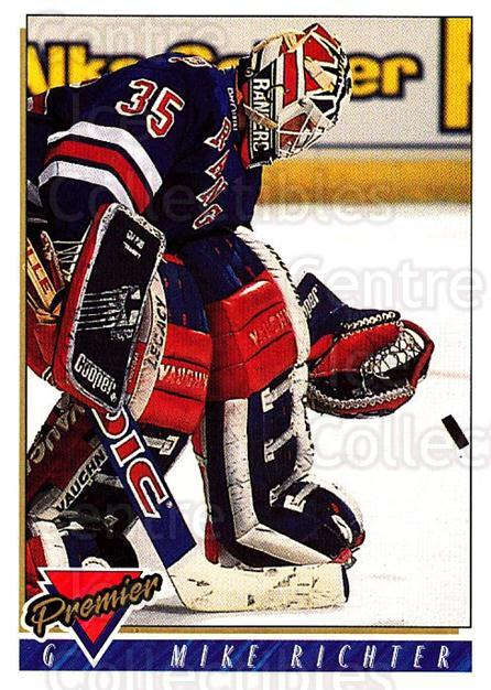 1993-94 Topps Premier #135 Mike Richter<br/>4 In Stock - $1.00 each - <a href=https://centericecollectibles.foxycart.com/cart?name=1993-94%20Topps%20Premier%20%23135%20Mike%20Richter...&quantity_max=4&price=$1.00&code=180288 class=foxycart> Buy it now! </a>