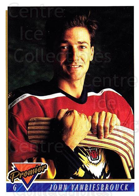 1993-94 Topps Premier #160 John Vanbiesbrouck<br/>4 In Stock - $1.00 each - <a href=https://centericecollectibles.foxycart.com/cart?name=1993-94%20Topps%20Premier%20%23160%20John%20Vanbiesbro...&quantity_max=4&price=$1.00&code=180315 class=foxycart> Buy it now! </a>