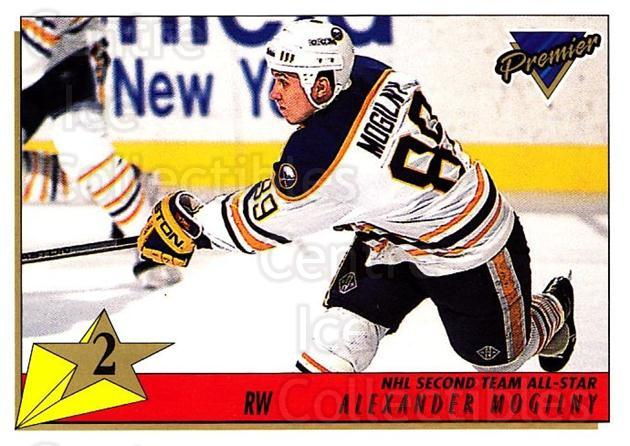 1993-94 Topps Premier #172 Alexander Mogilny<br/>3 In Stock - $1.00 each - <a href=https://centericecollectibles.foxycart.com/cart?name=1993-94%20Topps%20Premier%20%23172%20Alexander%20Mogil...&quantity_max=3&price=$1.00&code=180327 class=foxycart> Buy it now! </a>