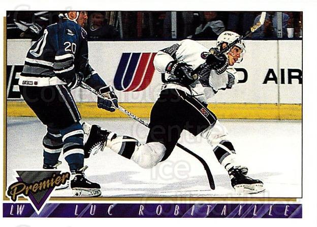 1993-94 Topps Premier #180 Luc Robitaille<br/>4 In Stock - $1.00 each - <a href=https://centericecollectibles.foxycart.com/cart?name=1993-94%20Topps%20Premier%20%23180%20Luc%20Robitaille...&quantity_max=4&price=$1.00&code=180336 class=foxycart> Buy it now! </a>