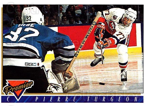 1993-94 Topps Premier #190 Pierre Turgeon<br/>3 In Stock - $1.00 each - <a href=https://centericecollectibles.foxycart.com/cart?name=1993-94%20Topps%20Premier%20%23190%20Pierre%20Turgeon...&quantity_max=3&price=$1.00&code=180347 class=foxycart> Buy it now! </a>