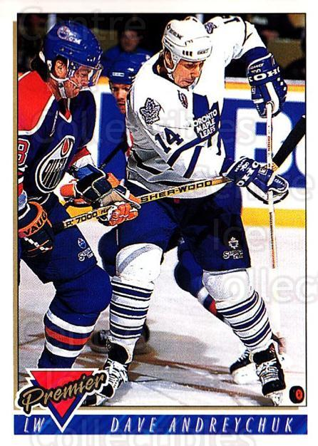 1993-94 Topps Premier #235 Dave Andreychuk<br/>3 In Stock - $1.00 each - <a href=https://centericecollectibles.foxycart.com/cart?name=1993-94%20Topps%20Premier%20%23235%20Dave%20Andreychuk...&quantity_max=3&price=$1.00&code=180395 class=foxycart> Buy it now! </a>