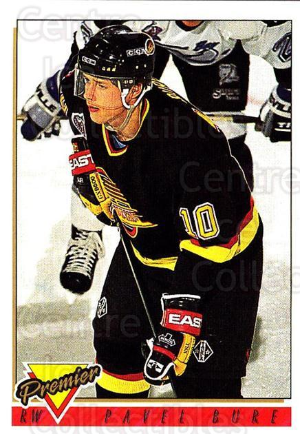 1993-94 Topps Premier #260 Pavel Bure<br/>4 In Stock - $1.00 each - <a href=https://centericecollectibles.foxycart.com/cart?name=1993-94%20Topps%20Premier%20%23260%20Pavel%20Bure...&quantity_max=4&price=$1.00&code=180423 class=foxycart> Buy it now! </a>