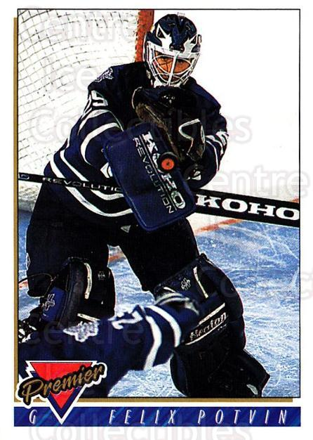 1993-94 Topps Premier #30 Felix Potvin<br/>2 In Stock - $1.00 each - <a href=https://centericecollectibles.foxycart.com/cart?name=1993-94%20Topps%20Premier%20%2330%20Felix%20Potvin...&quantity_max=2&price=$1.00&code=180464 class=foxycart> Buy it now! </a>