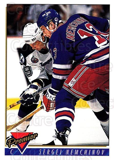 1993-94 Topps Premier #42 Sergei Nemchinov<br/>4 In Stock - $1.00 each - <a href=https://centericecollectibles.foxycart.com/cart?name=1993-94%20Topps%20Premier%20%2342%20Sergei%20Nemchino...&quantity_max=4&price=$1.00&code=180580 class=foxycart> Buy it now! </a>