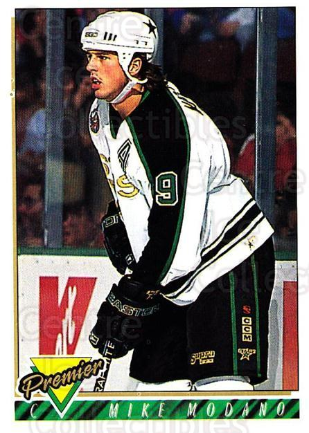1993-94 Topps Premier #46 Mike Modano<br/>2 In Stock - $1.00 each - <a href=https://centericecollectibles.foxycart.com/cart?name=1993-94%20Topps%20Premier%20%2346%20Mike%20Modano...&quantity_max=2&price=$1.00&code=180618 class=foxycart> Buy it now! </a>