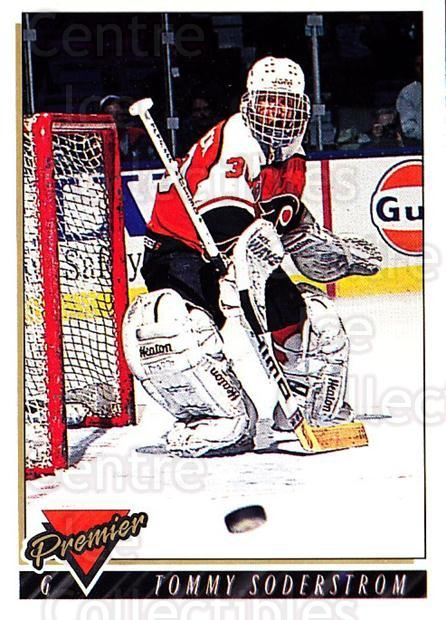 1993-94 Topps Premier #55 Tommy Soderstrom<br/>3 In Stock - $1.00 each - <a href=https://centericecollectibles.foxycart.com/cart?name=1993-94%20Topps%20Premier%20%2355%20Tommy%20Soderstro...&quantity_max=3&price=$1.00&code=180689 class=foxycart> Buy it now! </a>