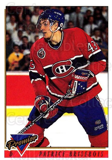 1993-94 Topps Premier #59 Patrice Brisebois<br/>2 In Stock - $1.00 each - <a href=https://centericecollectibles.foxycart.com/cart?name=1993-94%20Topps%20Premier%20%2359%20Patrice%20Brisebo...&quantity_max=2&price=$1.00&code=180693 class=foxycart> Buy it now! </a>