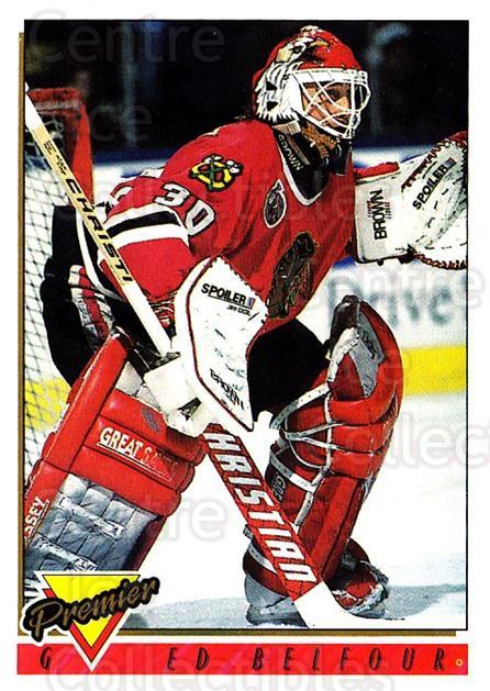 1993-94 Topps Premier #60 Ed Belfour<br/>3 In Stock - $1.00 each - <a href=https://centericecollectibles.foxycart.com/cart?name=1993-94%20Topps%20Premier%20%2360%20Ed%20Belfour...&price=$1.00&code=180695 class=foxycart> Buy it now! </a>