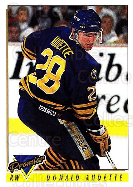1993-94 Topps Premier #61 Donald Audette<br/>4 In Stock - $1.00 each - <a href=https://centericecollectibles.foxycart.com/cart?name=1993-94%20Topps%20Premier%20%2361%20Donald%20Audette...&quantity_max=4&price=$1.00&code=180696 class=foxycart> Buy it now! </a>
