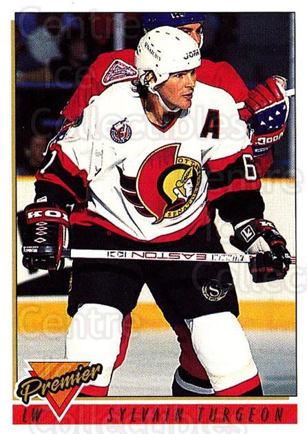 1993-94 Topps Premier #97 Sylvain Turgeon<br/>3 In Stock - $1.00 each - <a href=https://centericecollectibles.foxycart.com/cart?name=1993-94%20Topps%20Premier%20%2397%20Sylvain%20Turgeon...&quantity_max=3&price=$1.00&code=180734 class=foxycart> Buy it now! </a>
