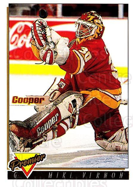 1993-94 Topps Premier Gold #15 Mike Vernon<br/>5 In Stock - $2.00 each - <a href=https://centericecollectibles.foxycart.com/cart?name=1993-94%20Topps%20Premier%20Gold%20%2315%20Mike%20Vernon...&quantity_max=5&price=$2.00&code=180784 class=foxycart> Buy it now! </a>