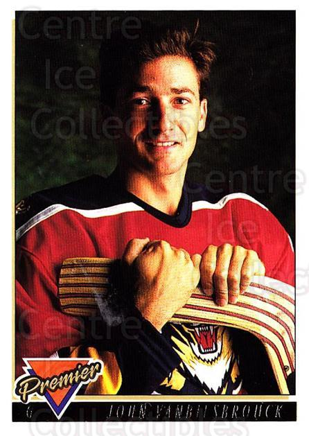 1993-94 Topps Premier Gold #160 John Vanbiesbrouck<br/>4 In Stock - $2.00 each - <a href=https://centericecollectibles.foxycart.com/cart?name=1993-94%20Topps%20Premier%20Gold%20%23160%20John%20Vanbiesbro...&quantity_max=4&price=$2.00&code=180796 class=foxycart> Buy it now! </a>