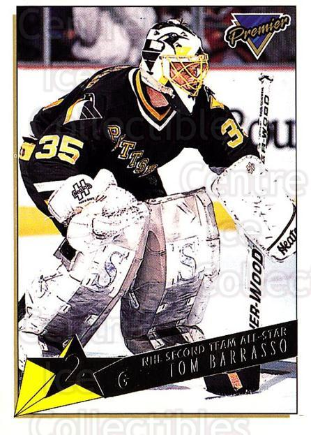 1993-94 Topps Premier Gold #175 Tom Barrasso<br/>3 In Stock - $2.00 each - <a href=https://centericecollectibles.foxycart.com/cart?name=1993-94%20Topps%20Premier%20Gold%20%23175%20Tom%20Barrasso...&quantity_max=3&price=$2.00&code=180810 class=foxycart> Buy it now! </a>