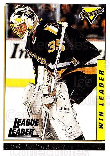 1993-94 Topps Premier Gold #204 Tom Barrasso<br/>3 In Stock - $2.00 each - <a href=https://centericecollectibles.foxycart.com/cart?name=1993-94%20Topps%20Premier%20Gold%20%23204%20Tom%20Barrasso...&quantity_max=3&price=$2.00&code=180842 class=foxycart> Buy it now! </a>