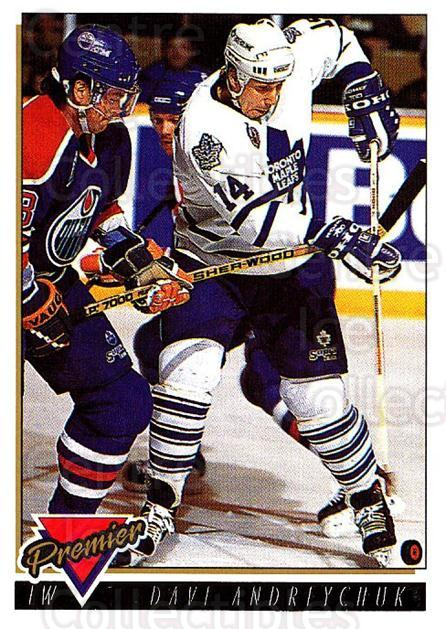 1993-94 Topps Premier Gold #235 Dave Andreychuk<br/>3 In Stock - $2.00 each - <a href=https://centericecollectibles.foxycart.com/cart?name=1993-94%20Topps%20Premier%20Gold%20%23235%20Dave%20Andreychuk...&quantity_max=3&price=$2.00&code=180874 class=foxycart> Buy it now! </a>