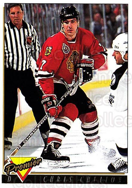 1993-94 Topps Premier Gold #237 Chris Chelios<br/>3 In Stock - $2.00 each - <a href=https://centericecollectibles.foxycart.com/cart?name=1993-94%20Topps%20Premier%20Gold%20%23237%20Chris%20Chelios...&quantity_max=3&price=$2.00&code=180876 class=foxycart> Buy it now! </a>