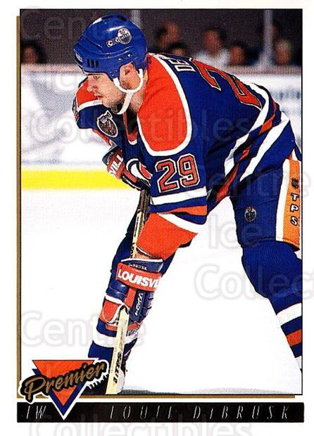 1993-94 Topps Premier Gold #319 Louie DeBrusk<br/>5 In Stock - $2.00 each - <a href=https://centericecollectibles.foxycart.com/cart?name=1993-94%20Topps%20Premier%20Gold%20%23319%20Louie%20DeBrusk...&quantity_max=5&price=$2.00&code=180962 class=foxycart> Buy it now! </a>