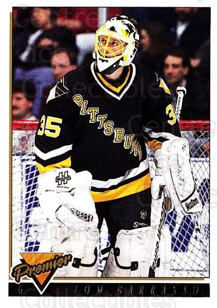 1993-94 Topps Premier Gold #446 Tom Barrasso<br/>3 In Stock - $2.00 each - <a href=https://centericecollectibles.foxycart.com/cart?name=1993-94%20Topps%20Premier%20Gold%20%23446%20Tom%20Barrasso...&price=$2.00&code=181092 class=foxycart> Buy it now! </a>