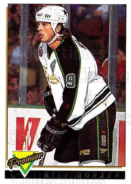 1993-94 Topps Premier Gold #46 Mike Modano<br/>5 In Stock - $2.00 each - <a href=https://centericecollectibles.foxycart.com/cart?name=1993-94%20Topps%20Premier%20Gold%20%2346%20Mike%20Modano...&quantity_max=5&price=$2.00&code=181106 class=foxycart> Buy it now! </a>