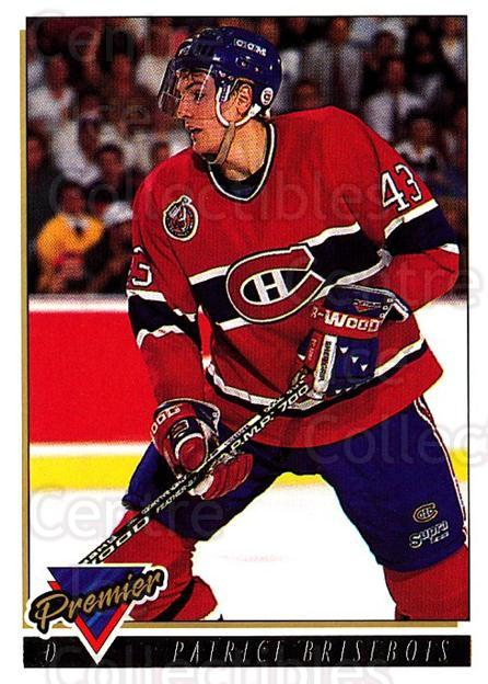 1993-94 Topps Premier Gold #59 Patrice Brisebois<br/>5 In Stock - $2.00 each - <a href=https://centericecollectibles.foxycart.com/cart?name=1993-94%20Topps%20Premier%20Gold%20%2359%20Patrice%20Brisebo...&quantity_max=5&price=$2.00&code=181185 class=foxycart> Buy it now! </a>