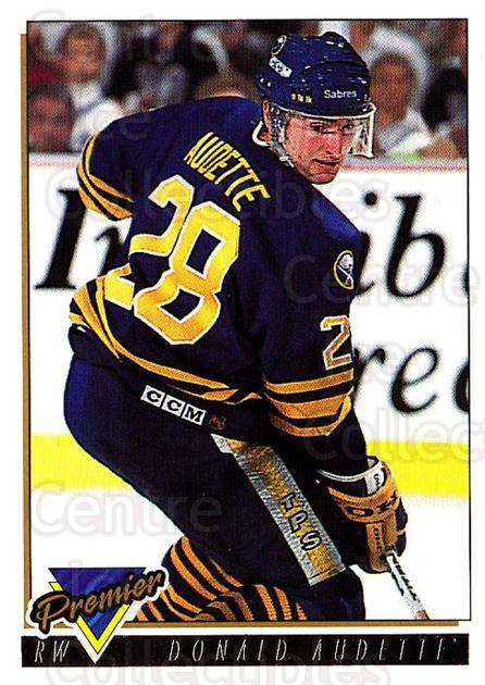 1993-94 Topps Premier Gold #61 Donald Audette<br/>4 In Stock - $2.00 each - <a href=https://centericecollectibles.foxycart.com/cart?name=1993-94%20Topps%20Premier%20Gold%20%2361%20Donald%20Audette...&quantity_max=4&price=$2.00&code=181188 class=foxycart> Buy it now! </a>