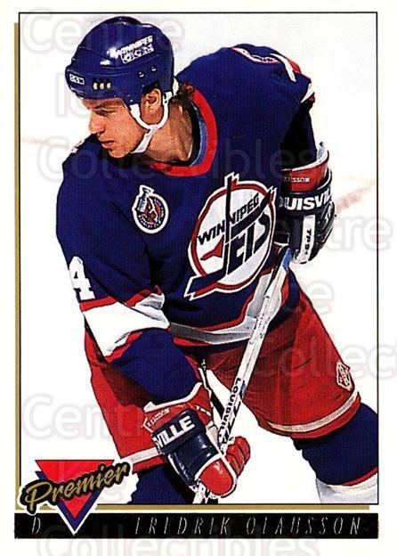 1993-94 Topps Premier Gold #63 Fredrik Olausson<br/>5 In Stock - $2.00 each - <a href=https://centericecollectibles.foxycart.com/cart?name=1993-94%20Topps%20Premier%20Gold%20%2363%20Fredrik%20Olausso...&quantity_max=5&price=$2.00&code=181190 class=foxycart> Buy it now! </a>