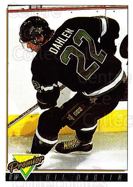 1993-94 Topps Premier Gold #75 Ulf Dahlen<br/>4 In Stock - $2.00 each - <a href=https://centericecollectibles.foxycart.com/cart?name=1993-94%20Topps%20Premier%20Gold%20%2375%20Ulf%20Dahlen...&quantity_max=4&price=$2.00&code=181203 class=foxycart> Buy it now! </a>