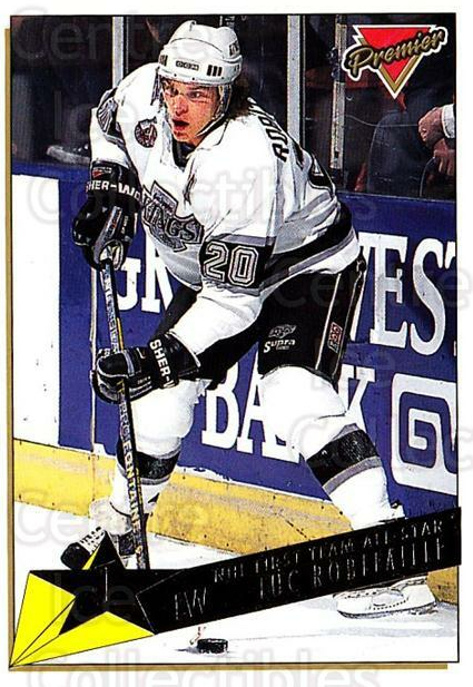 1993-94 Topps Premier Gold #90 Luc Robitaille<br/>3 In Stock - $2.00 each - <a href=https://centericecollectibles.foxycart.com/cart?name=1993-94%20Topps%20Premier%20Gold%20%2390%20Luc%20Robitaille...&quantity_max=3&price=$2.00&code=181219 class=foxycart> Buy it now! </a>