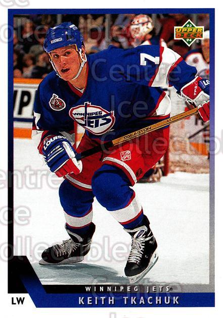 1993-94 Upper Deck #195 Keith Tkachuk<br/>11 In Stock - $1.00 each - <a href=https://centericecollectibles.foxycart.com/cart?name=1993-94%20Upper%20Deck%20%23195%20Keith%20Tkachuk...&quantity_max=11&price=$1.00&code=181262 class=foxycart> Buy it now! </a>