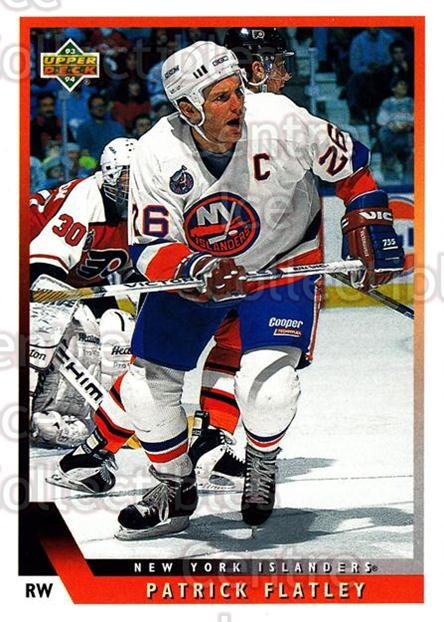 1993-94 Upper Deck #210 Pat Flatley<br/>9 In Stock - $1.00 each - <a href=https://centericecollectibles.foxycart.com/cart?name=1993-94%20Upper%20Deck%20%23210%20Pat%20Flatley...&quantity_max=9&price=$1.00&code=181280 class=foxycart> Buy it now! </a>