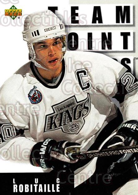 1993-94 Upper Deck #293 Luc Robitaille<br/>12 In Stock - $1.00 each - <a href=https://centericecollectibles.foxycart.com/cart?name=1993-94%20Upper%20Deck%20%23293%20Luc%20Robitaille...&quantity_max=12&price=$1.00&code=181369 class=foxycart> Buy it now! </a>