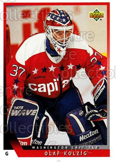 1993-94 Upper Deck #326 Olaf Kolzig<br/>9 In Stock - $1.00 each - <a href=https://centericecollectibles.foxycart.com/cart?name=1993-94%20Upper%20Deck%20%23326%20Olaf%20Kolzig...&quantity_max=9&price=$1.00&code=181406 class=foxycart> Buy it now! </a>