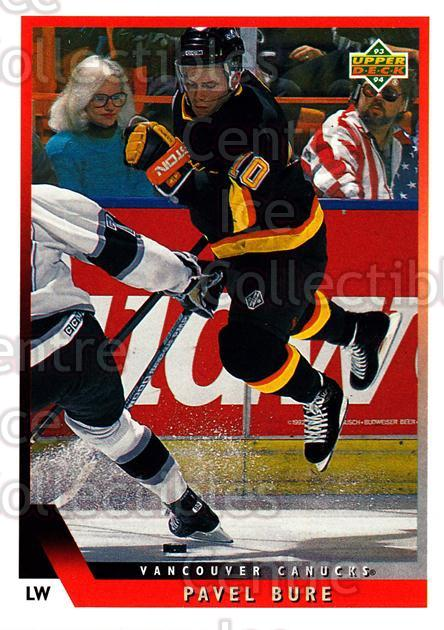 1993-94 Upper Deck #35 Pavel Bure<br/>10 In Stock - $1.00 each - <a href=https://centericecollectibles.foxycart.com/cart?name=1993-94%20Upper%20Deck%20%2335%20Pavel%20Bure...&quantity_max=10&price=$1.00&code=181432 class=foxycart> Buy it now! </a>