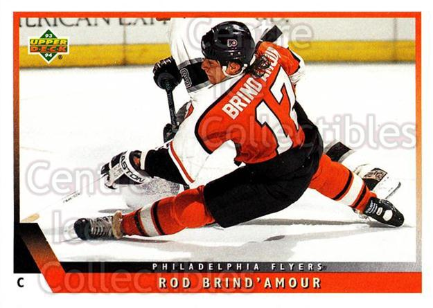 1993-94 Upper Deck #361 Rod Brind'Amour<br/>12 In Stock - $1.00 each - <a href=https://centericecollectibles.foxycart.com/cart?name=1993-94%20Upper%20Deck%20%23361%20Rod%20Brind'Amour...&quantity_max=12&price=$1.00&code=181445 class=foxycart> Buy it now! </a>
